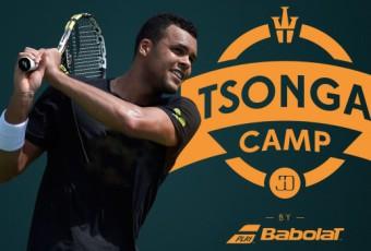 Jo-Wilfried Tsonga a présenté son camp de tennis en attendant Roland-Garros