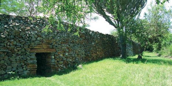 Un mur de Thimlich Ohinga