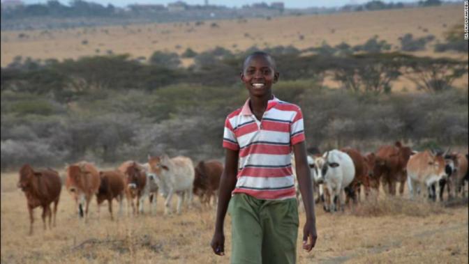 A 11 ans, il crée une invention pour protéger ses troupeaux sans tuer des lions