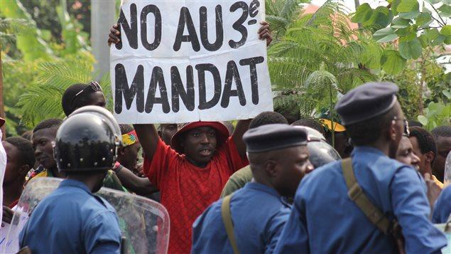 Crise au Burundi : 70 personnes tuées lors des manifestations