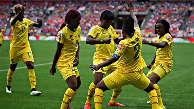 Football: le Cameroun, dernier espoir du Continent au mondial féminin