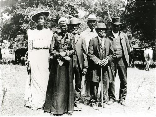 Célébration de Juneteenth en 1900 au Texas