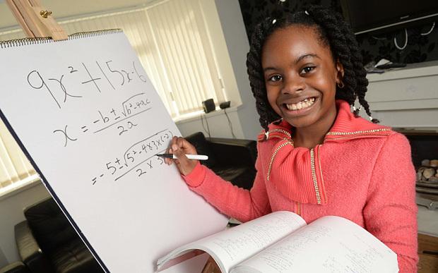 A 13 ans, elle aura son doctorat en maths
