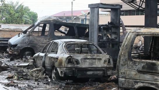 Ghana : 90 personnes périssent dans l'incendie d'une station-service