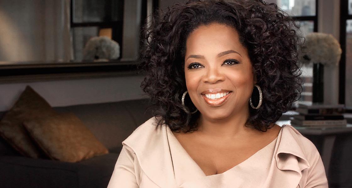 """Oprah Winfrey : """"Ne vous entourez que de personnes qui vous tirent vers le haut""""."""