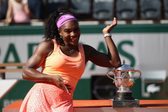 Tennis : Serena Williams, une championne modeste lauréate de Roland-Garros 2015