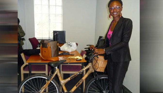 A 15 ans, elle a décidé de lancer une marque de vélos en bambou