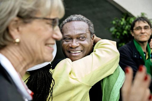 Laurent Jimaja, cet homme noir élu maire en Suisse