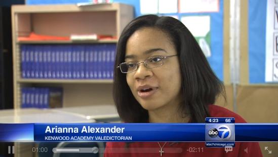 Une jeune noire américaine acceptée dans 26 universités