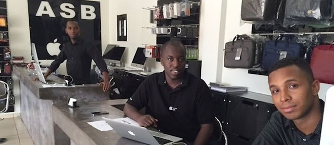Diadié Soumaré : monsieur Apple Store Bamako