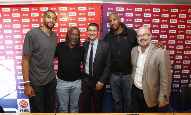 Boris Diaw et Nicolas Batum s'engagent dans le développement du basket en Afrique