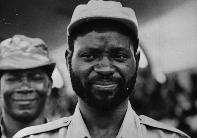 Samora Moisés Machel, premier président du Mozambique.