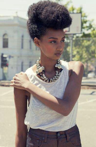 Afro d'été