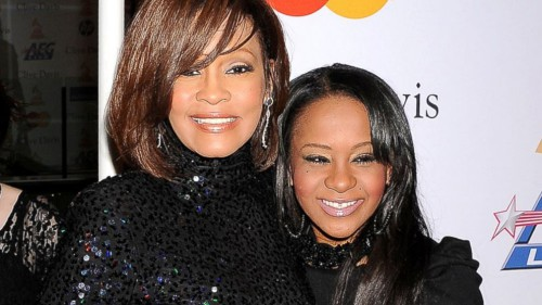 Withney Houston et Bobbi Kristina