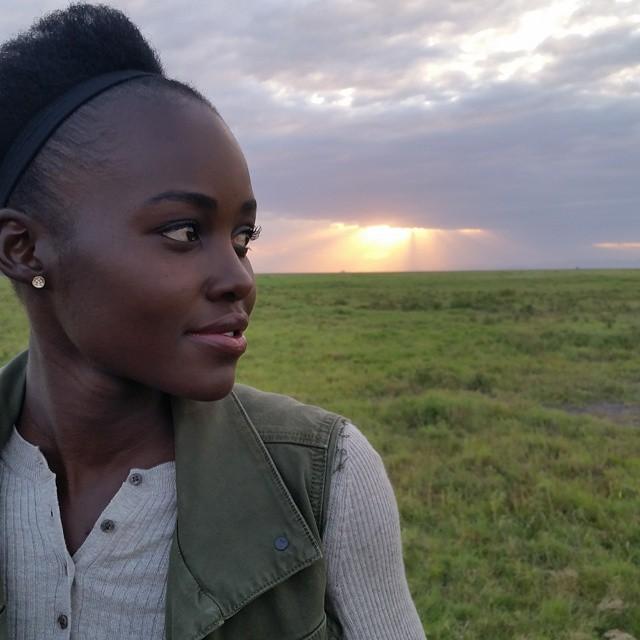 Lupita au Kenya