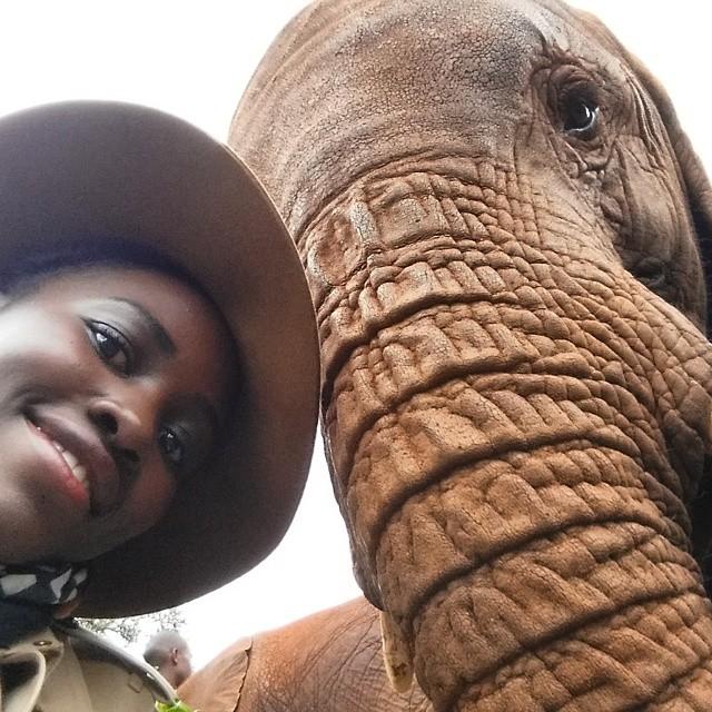 Lupita voyage au Kenya