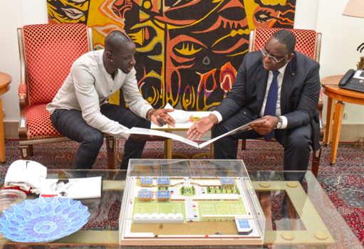 Mamadou Sakho a présenté son projet à Macky Sall