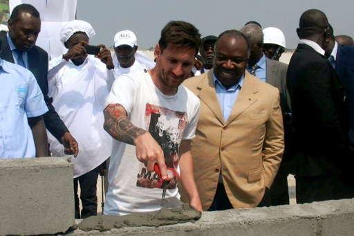 Messi et Bongo 2