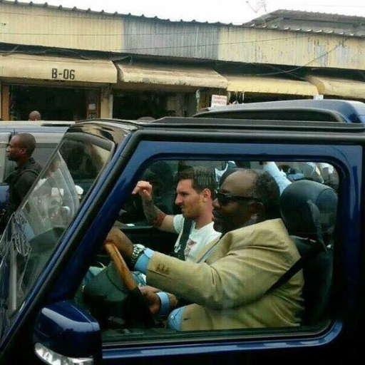 Football: la visite controversée de Lionel Messi au Gabon