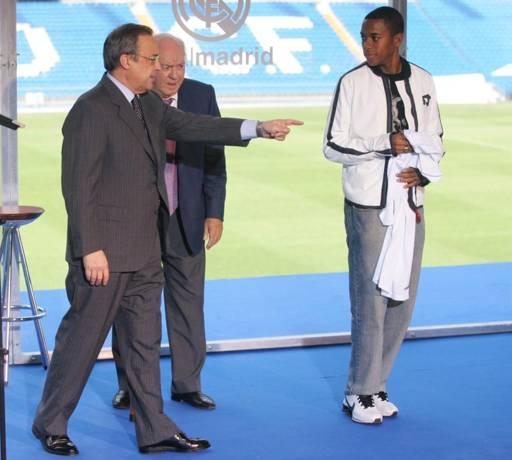 Football: la pensée de Florentino Perez sur les joueurs noirs