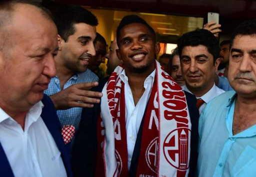 Football: Samuel Eto'o, le Turc