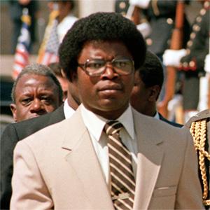 Samuel Kanyon Doe, premier président libérien autochtone