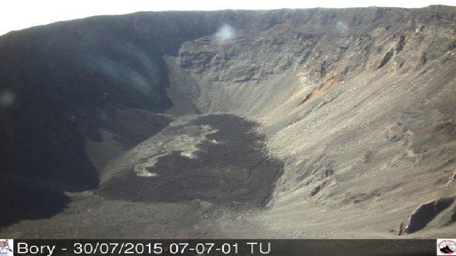 La Réunion : Risque d'éruption du Piton de la Fournaise