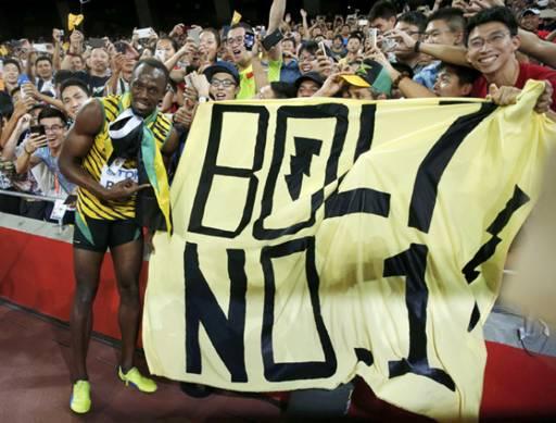 Mondiaux d'athlétisme : Usain Bolt reste le roi du sprint