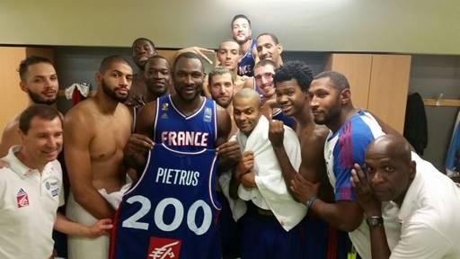 Basket : Florent Pietrus, une 200eme cap historique