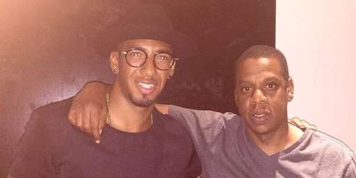Jérôme Boateng et Jay-Z, le début d'une association