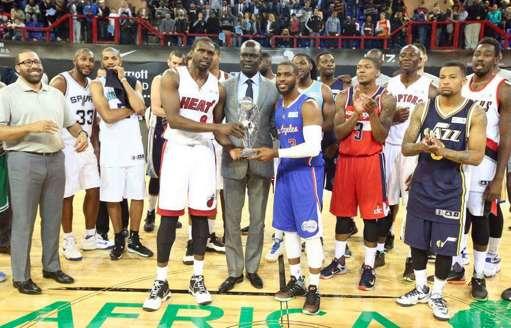 Opération séduction réussie pour la NBA en Afrique