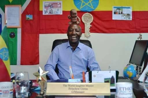 Quand un Éthiopien ouvre une école du rire à Addis-Abeba