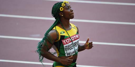 Mondiaux d'athlétisme : Shelly-Ann Fraser-Pryce, la Bolt au féminin