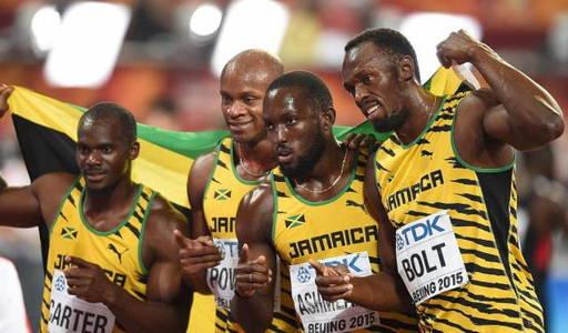 Usain Bolt relais