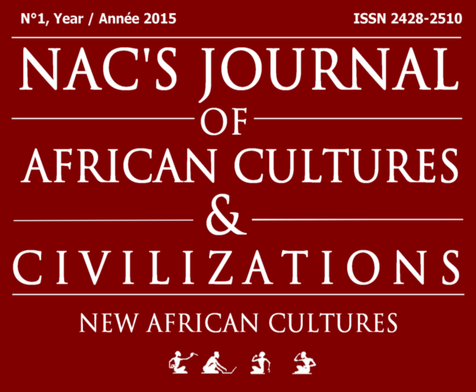 Objectifs du / Aims of the Journal of African Cultures and Civilizations