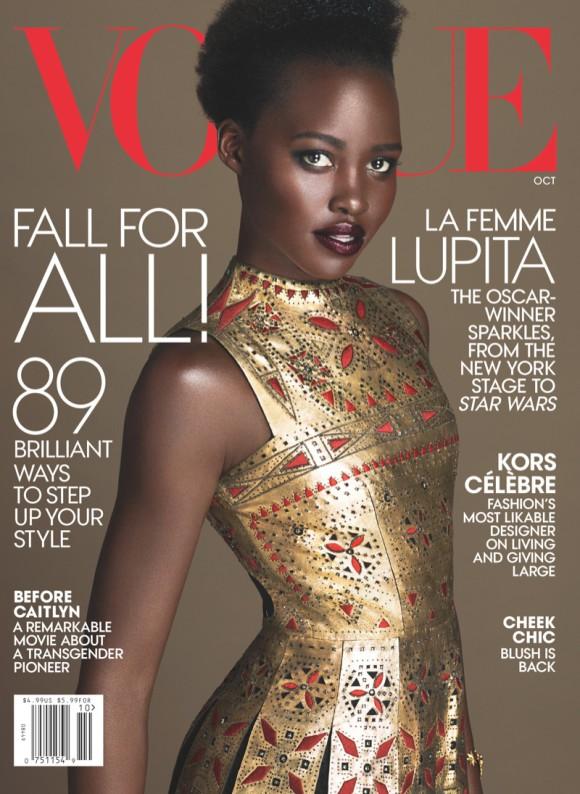 Lupia Nyongo pour Vogue US