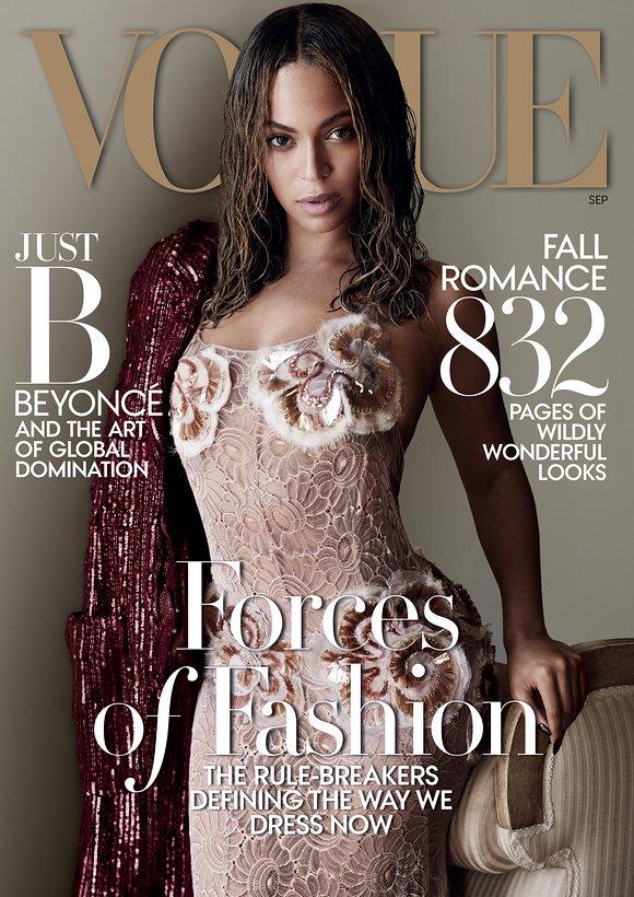 Beyoncé pour Vogue US