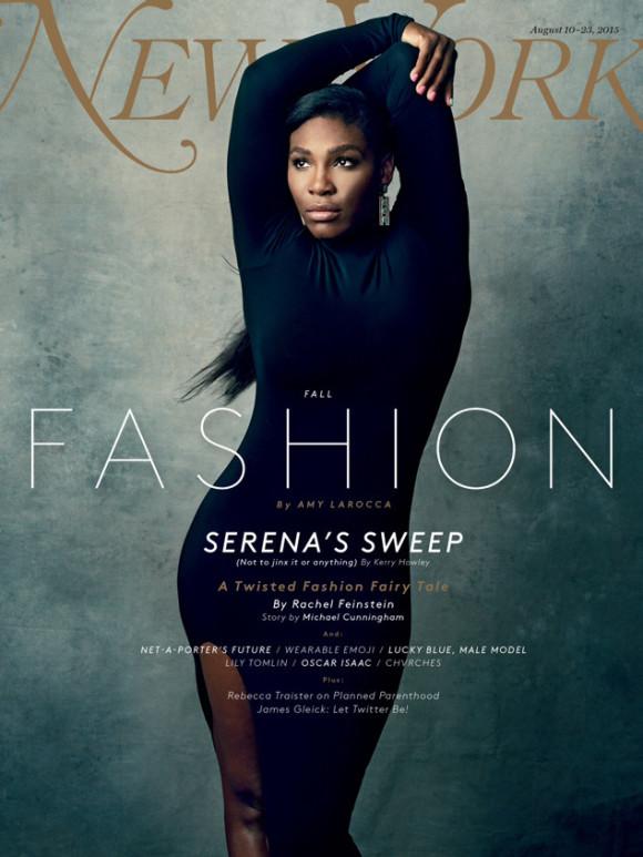 Serena Williams pour New York magazine