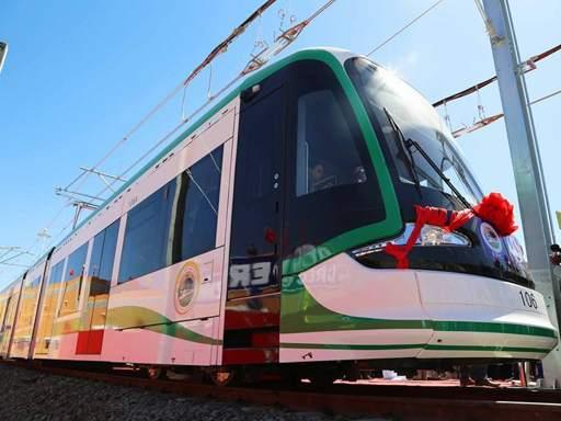 Inauguration d'une ligne de tramway à Addis Abeba