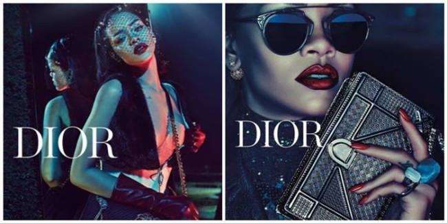 Rihanna pour Dior