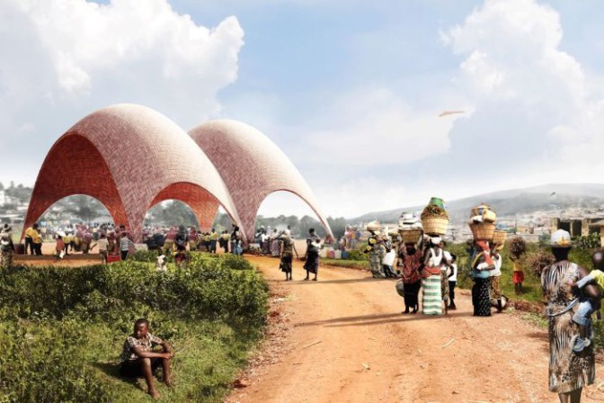 Construction du premier aéroport pour drones au Rwanda