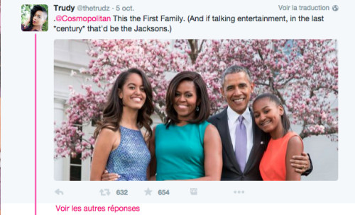 Tweet about cosmpolitan