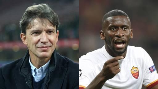 Football : le dérapage raciste de Stefano Eranio à Antonio Rüdiger