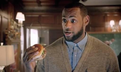 LeBron James change de partenariat culinaire