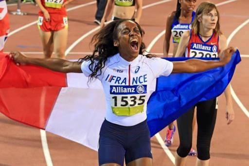 Mondiaux d'athlétisme handisport : une Martiniquaise en argent