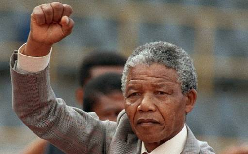 Nelson Mandela au Hall of Fame du rugby