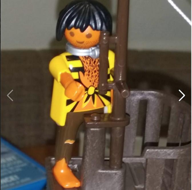 Une mère découvre un Playmobil «Esclave» dans le nouveau jeu de son fils