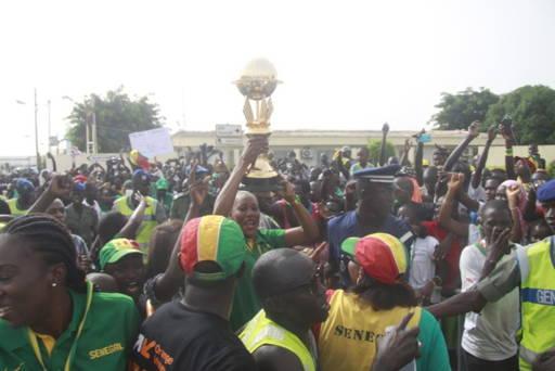 Sénégal retour triomphal