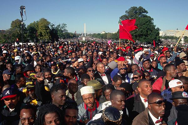 """18 ème anniversaire de la """"Million Man March"""" à Washington en 2013"""