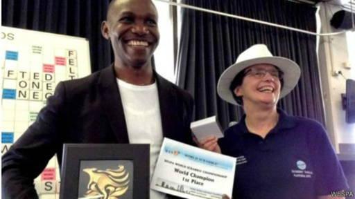 Un Nigérian est devenu champion du monde de Scrabble anglophone